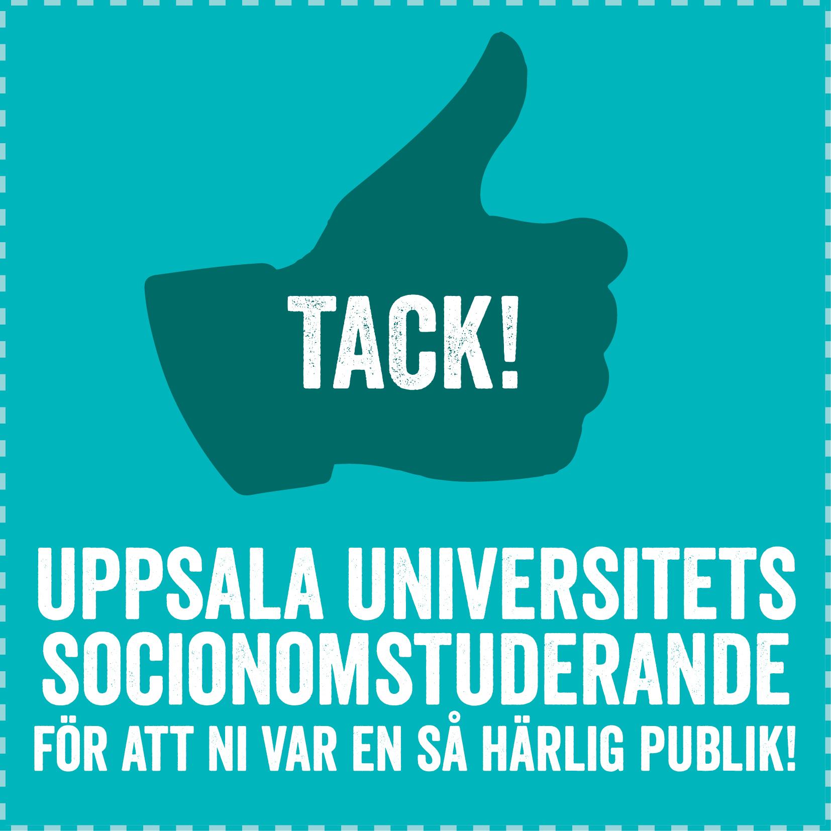 Föreläsning för Socionomstuderande på Uppsala Universitet
