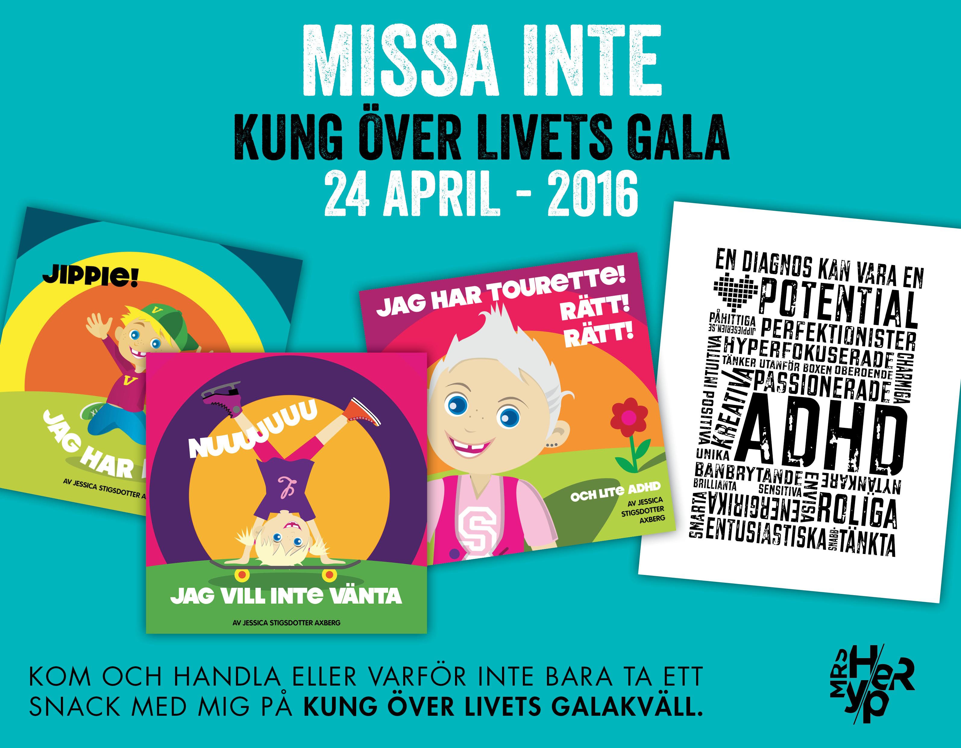 Kung över Livet – dags för gala 2016