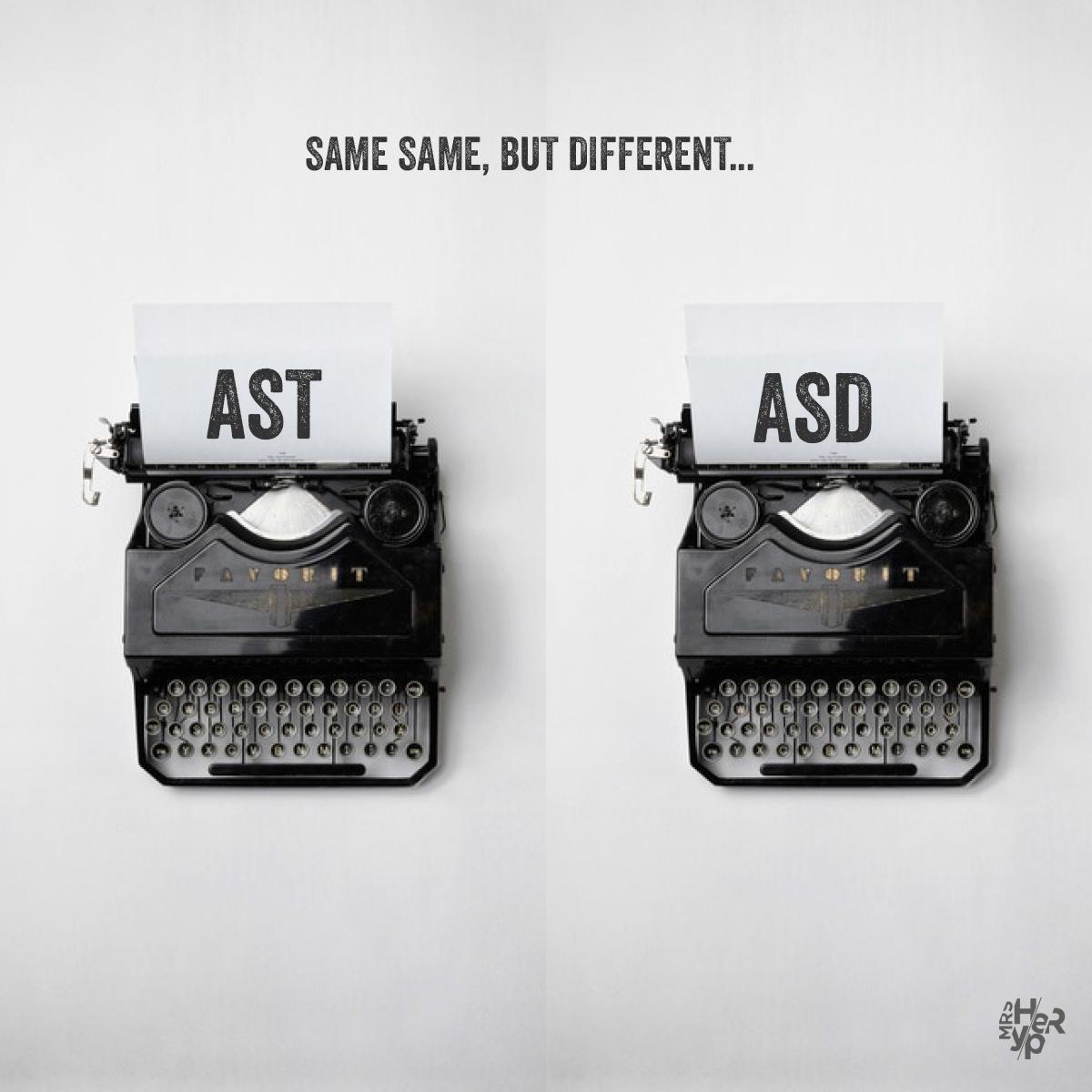 AST eller ASD – vad gäller?