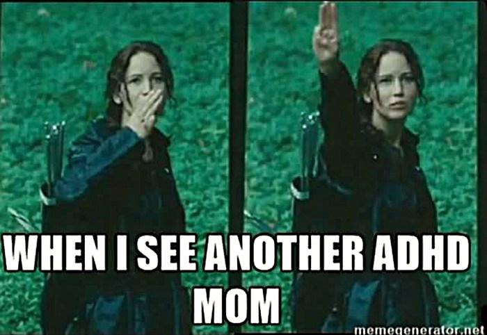 Till alla adhd-mammor. Pöss på er!