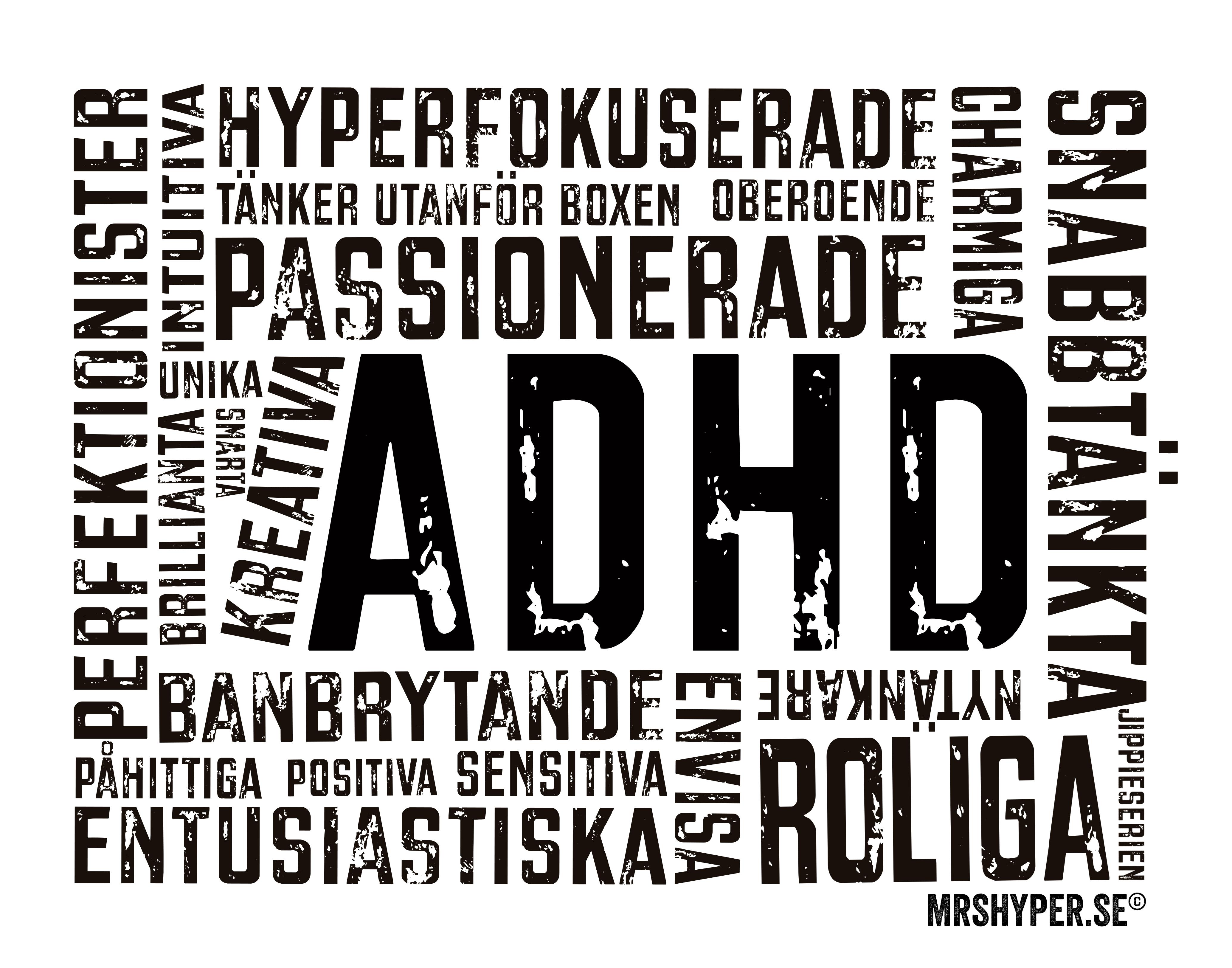 """ADHD tavlan eller """"bara-måste-ha-tavlan""""?"""