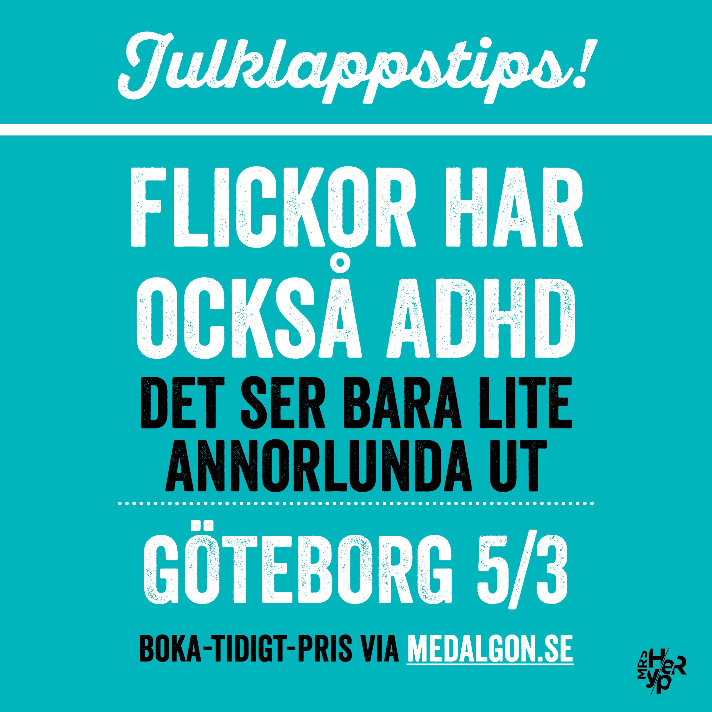 Julklappstips – föreläsning i Göteborg 5/3-2018