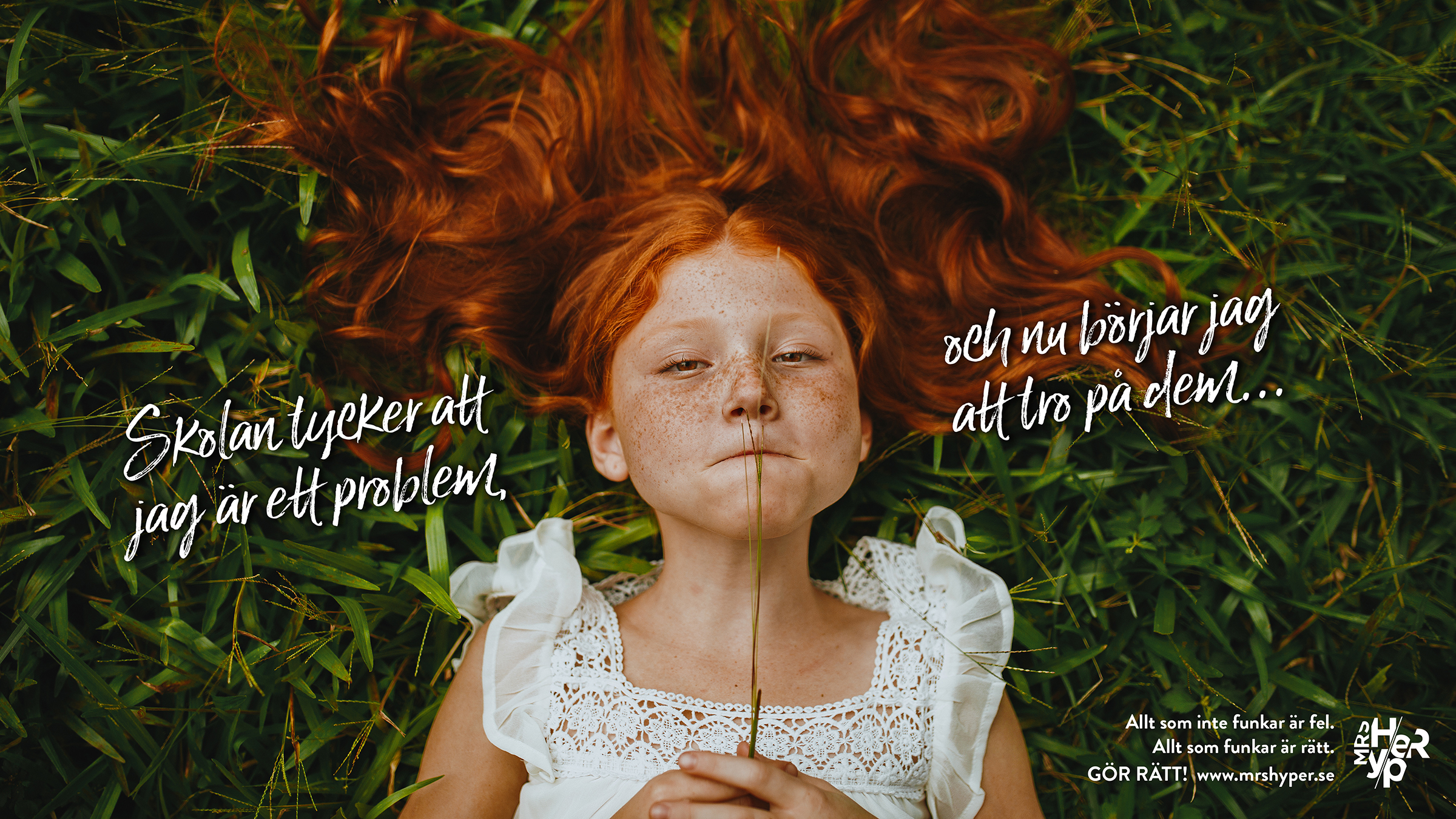 Låt inte barnen tro att det är de som är problemet.