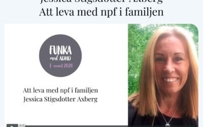 Funka med adhd – Jessica blir intervjuad