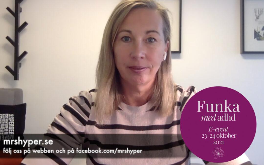 Funka med adhd-event 23-24 oktober